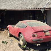 【画像】岐阜のボロい納屋から希少なフェラーリを発掘! オークションで1億円オーバーに!!