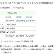 【悲報】iPhone XRが98496円から25920円に大幅値下げwww マジか…